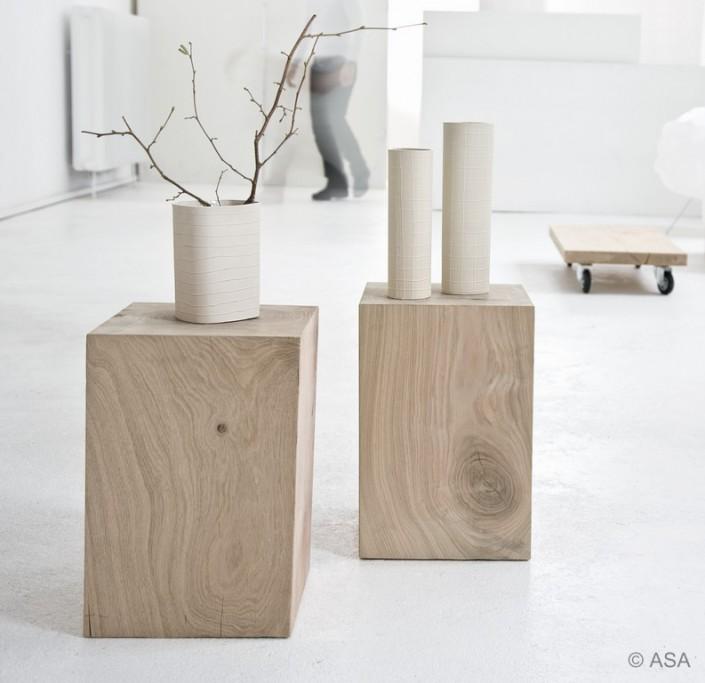 Vase aus Holz- Zachi Wiedner Möbel&Raumdesign
