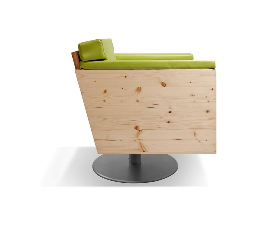 Schwarzwald-Sessel von Zachi Wiedner Möbel&Raumdesign