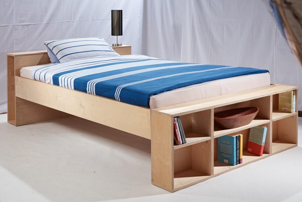 Bett Multiplex von Zachi Wiedner Möbel&Raumdesign
