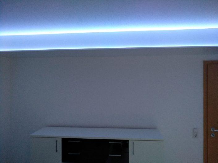 Rohrverkleidung mit LED